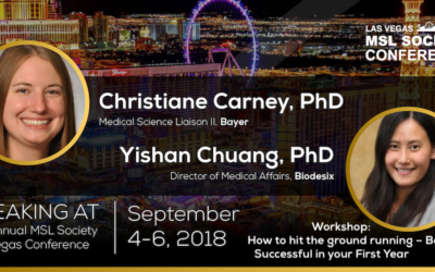 Dr. Yishan Chuang & Dr. Christiane Carney Explain How an MSL Can Be Successful in Their First Year
